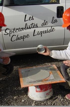 R alisation de chape liquide de chape fluide ciment et anhydrite de chape - Chape mousse polyurethane ...
