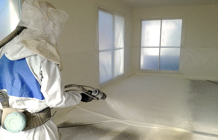 isolation par mousse polyur thane projet e sur la haute savoie 74 la savoie 73 pay de gex. Black Bedroom Furniture Sets. Home Design Ideas